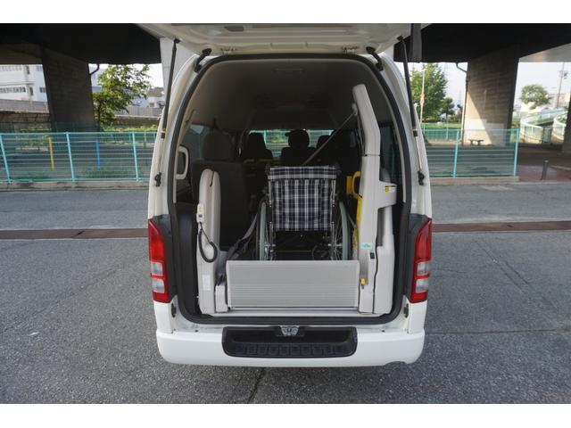 ロングDX 車椅子2脚仕様 Bタイプ パワーリフト(20枚目)