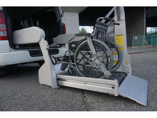 ロングDX 車椅子2脚仕様 Bタイプ パワーリフト(23枚目)