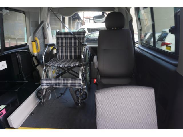 ロングDX 車椅子2脚仕様 Bタイプ パワーリフト(24枚目)
