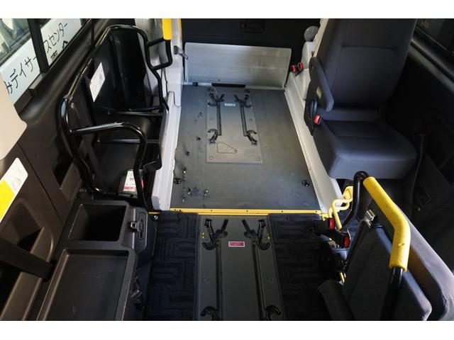 ロングDX 車椅子2脚仕様 Bタイプ パワーリフト(28枚目)