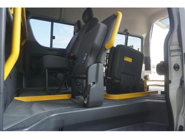 ロングDX 車椅子2脚仕様 Bタイプ パワーリフト(31枚目)