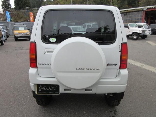ランドベンチャー 4WD リフトアップ HDDナビ シートヒーター ETC ワンオーナー仕入れ(6枚目)