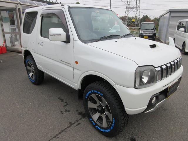 ランドベンチャー 4WD リフトアップ HDDナビ シートヒーター ETC ワンオーナー仕入れ(9枚目)