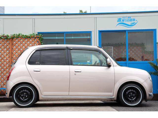 ミラジーノ入庫しました!新品RS☆Rダウンサス!新品ホワイトリボンタイヤ!お問い合せは 無料TEL:0066-9700-0690