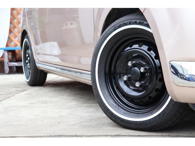 経験から計算されたタイヤサイズと車高!車検もそのままでOK!乗り心地も問題ございません!