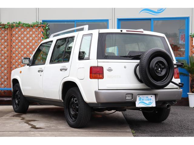 タイプA 4WD 背面タイヤ ルーフレール キーレス CD(3枚目)