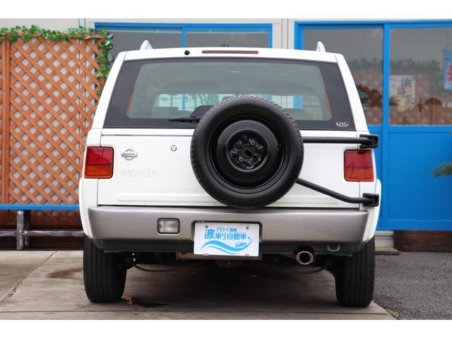 タイプA 4WD 背面タイヤ ルーフレール キーレス CD(11枚目)