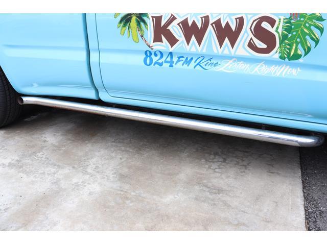 DX イベント出品車両・オリジナルカスタムペイント・シート張替え・SDナビ・TV・ETC・バックカメラ・ローダウン・ベビームーン・ホワイトレタータイヤ・ベンチシート・ウッドステアリング・チューブステップ(32枚目)