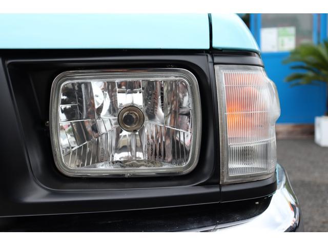 DX イベント出品車両・オリジナルカスタムペイント・シート張替え・SDナビ・TV・ETC・バックカメラ・ローダウン・ベビームーン・ホワイトレタータイヤ・ベンチシート・ウッドステアリング・チューブステップ(35枚目)