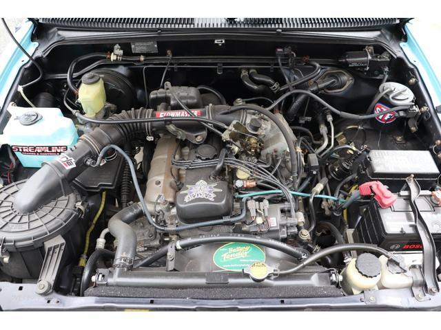 DX イベント出品車両・オリジナルカスタムペイント・シート張替え・SDナビ・TV・ETC・バックカメラ・ローダウン・ベビームーン・ホワイトレタータイヤ・ベンチシート・ウッドステアリング・チューブステップ(45枚目)