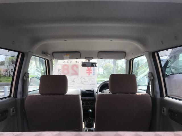 X 5速MT キーレス 盗難防止システム 両席エアバッグ(11枚目)