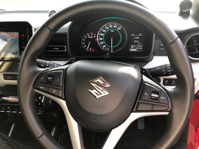 ハイブリッドMZ AW アイドリングストップ 1オーナー DVD スマートキー ナビTV 盗難防止システム 4WD オートエアコン シートヒータ メモリナビ(16枚目)