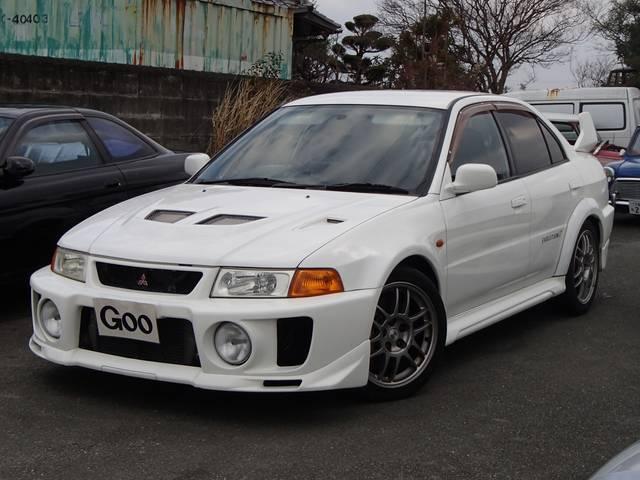 三菱 GSRエボリューションV 車高調 マフラー