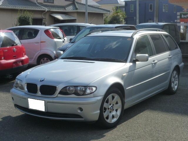BMW 318iツーリング サンルーフ メモリーナビ 純正アルミ