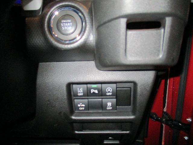 鍵はバックに入れたままボタン一つでエンジンスタートです!