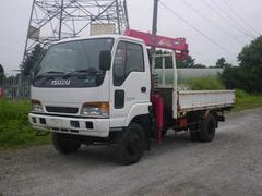 エルフトラック4WD クレーン付平 L3.67W2.08H0.35