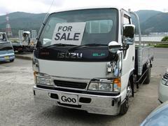 エルフトラック2tロング 平ボディ 4WD アルミブロック HSAブレーキ