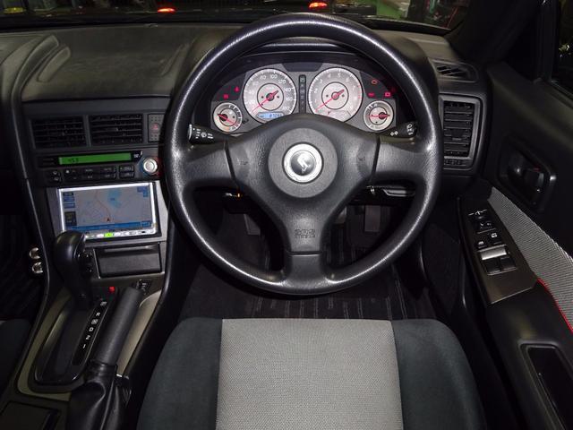 日産 スカイライン GT後期 2ドアクーペ リアスポ HDDナビ 禁煙車