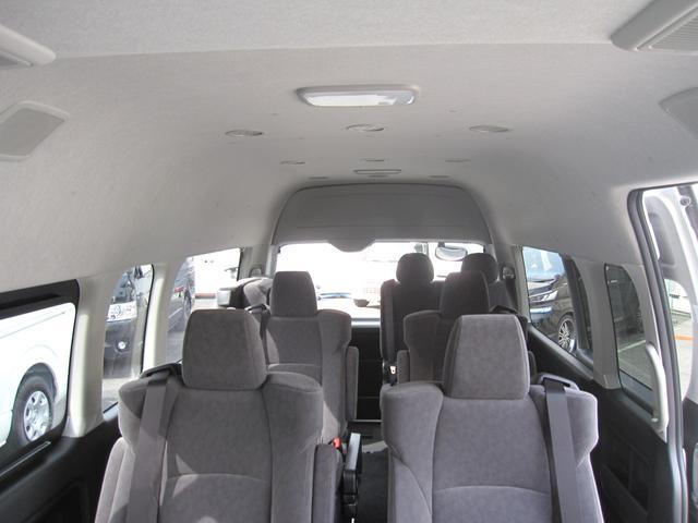 グランドキャビンハイルーフ4WD10人乗 トヨタ車体特別架装(3枚目)