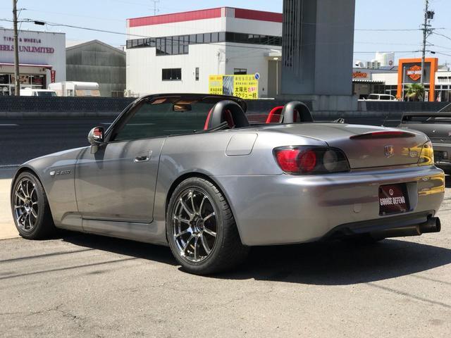 ホンダ S2000 大型GTウイング 外マフラー ADVANレーシングRS AW