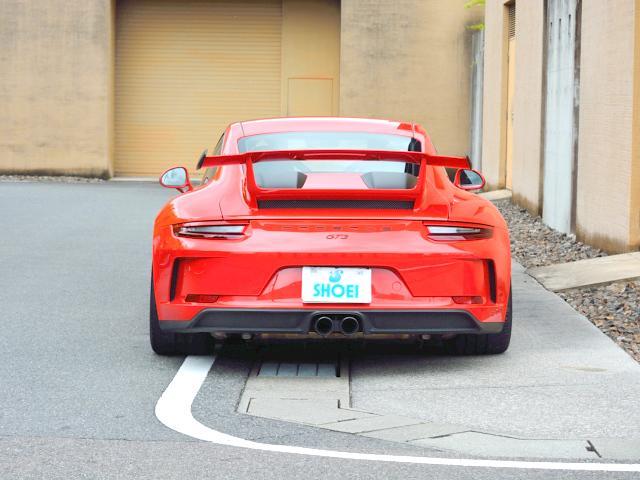 911GT3 6MT Fリフト レザーP カーボンP Clubsport package PTV Red 12 o'clock スポーツクロノ フルバケットシート ミラーカーボン ブラックデザインLEDヘッドライト(15枚目)