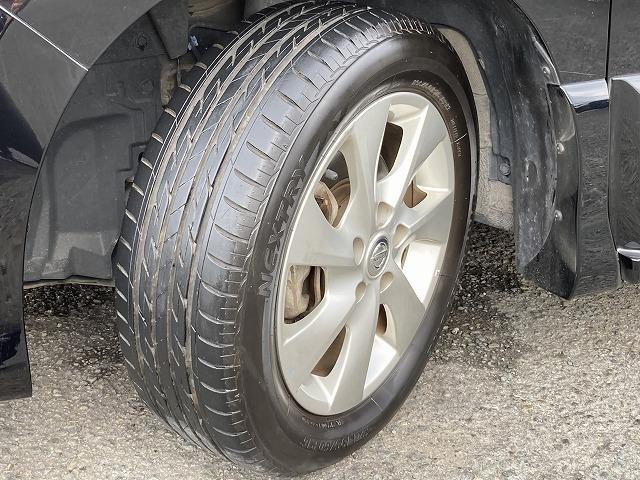 タイヤ溝もしっかりございます。