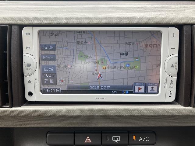 プラスハナ Cパッケージ 純正SDナビ ワンセグ Bluetooth接続 バックカメラ ETC スマートキー フォグ フロントシート肘掛け付き(11枚目)