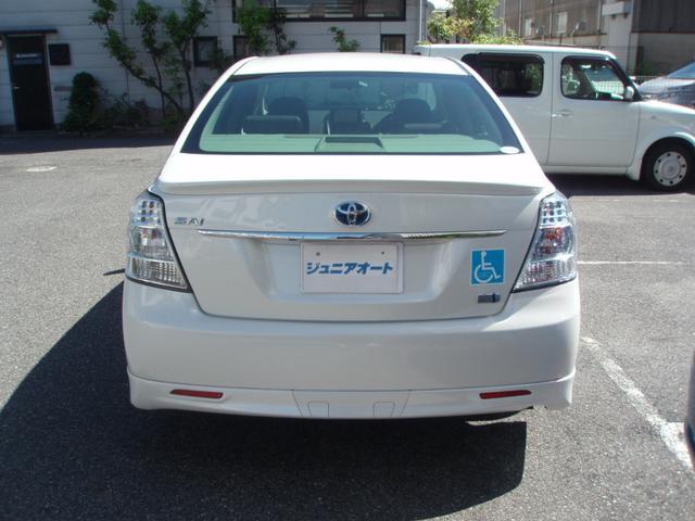 トヨタ SAI G ASパッケージ 茶革シート TVナビキャンセラー