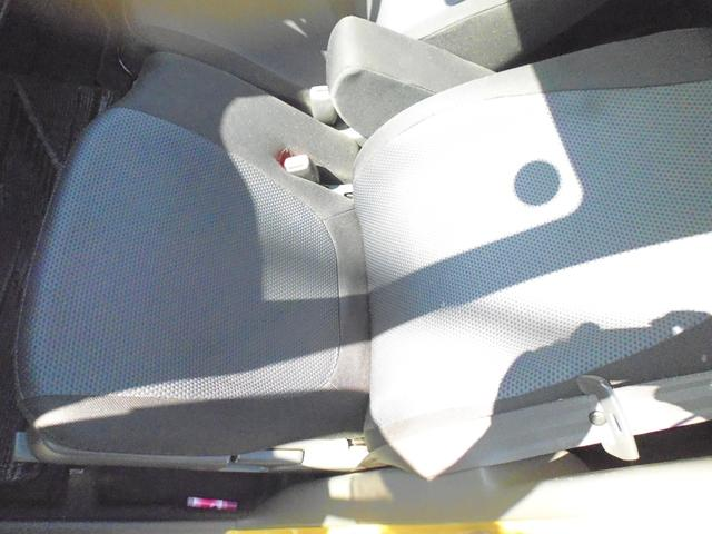 助手席のシートもこのとおりの綺麗さです。