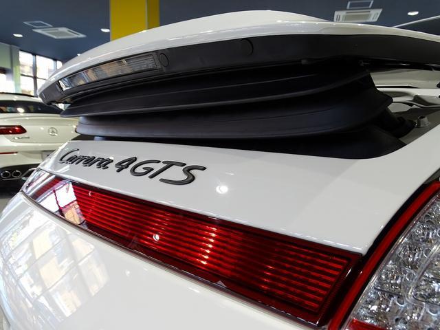 911カレラ4GTS 既存客様買取車 ワンオーナー 禁煙車 スポーツクロノパッケージ 純正フロントスポイラー 19AW PASM スポーツエグゾースト シートヒーター オートエアコン 地デジTV GPSレーダー(37枚目)