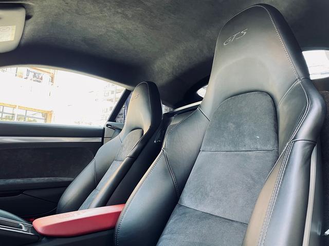 GTS 1オーナー 981型 左ハンドル スポーツクロノパッケージ スポーツエグゾースト レザーインテリア アダプティブスポーツシート BOSEサウンド エクステリアパッケージ シートヒーター バックモニター(9枚目)