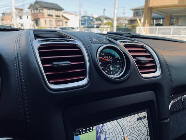 GTS 1オーナー 981型 左ハンドル スポーツクロノパッケージ スポーツエグゾースト レザーインテリア アダプティブスポーツシート BOSEサウンド エクステリアパッケージ シートヒーター バックモニター(13枚目)