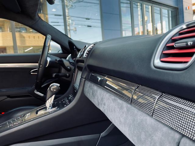 GTS 1オーナー 981型 左ハンドル スポーツクロノパッケージ スポーツエグゾースト レザーインテリア アダプティブスポーツシート BOSEサウンド エクステリアパッケージ シートヒーター バックモニター(18枚目)