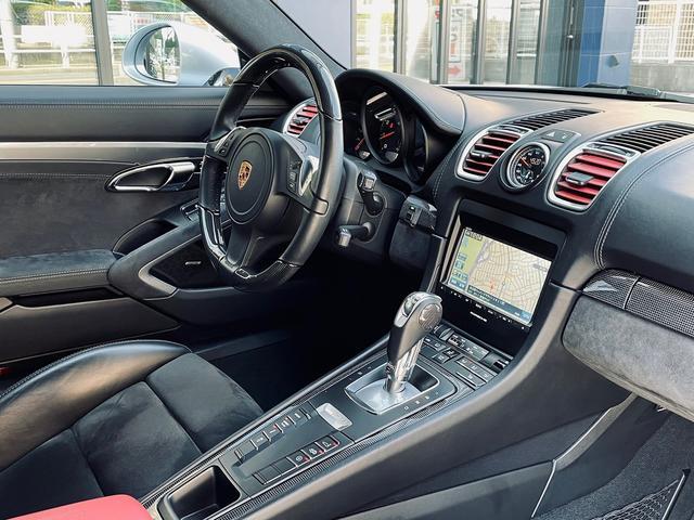 GTS 1オーナー 981型 左ハンドル スポーツクロノパッケージ スポーツエグゾースト レザーインテリア アダプティブスポーツシート BOSEサウンド エクステリアパッケージ シートヒーター バックモニター(44枚目)