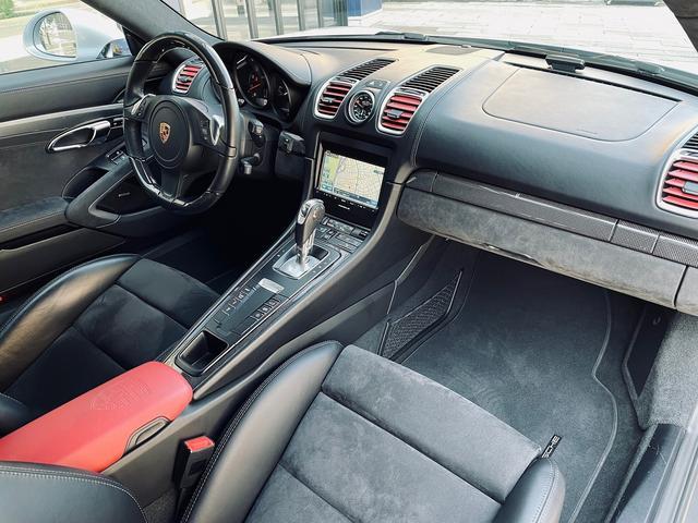 GTS 1オーナー 981型 左ハンドル スポーツクロノパッケージ スポーツエグゾースト レザーインテリア アダプティブスポーツシート BOSEサウンド エクステリアパッケージ シートヒーター バックモニター(46枚目)