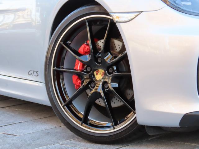 GTS スポーツクロノ スポーツエグゾースト PASM ブラック塗装カレラSホイール レッドキャリパー カーボンインテリア PDLS付ヘッドライト バックカメラ GTSコミュニケーションパッケージ ETC(41枚目)
