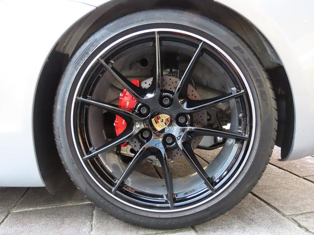 GTS スポーツクロノ スポーツエグゾースト PASM ブラック塗装カレラSホイール レッドキャリパー カーボンインテリア PDLS付ヘッドライト バックカメラ GTSコミュニケーションパッケージ ETC(42枚目)