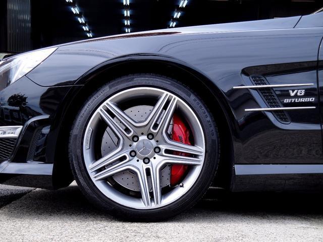 メルセデス・ベンツ M・ベンツ SL63AMG カーボンインテリア禁煙1オーナー最長2年保証