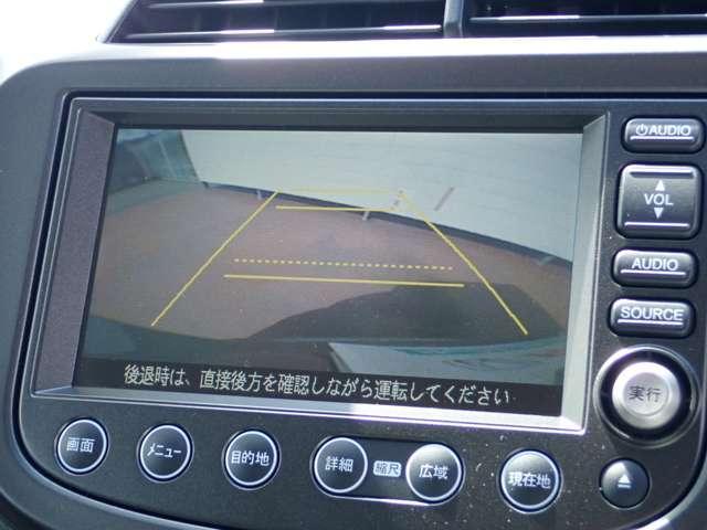 ホンダ フィットハイブリッド RS ファインスタイル CD録音対応HDDナビ リアカメラ