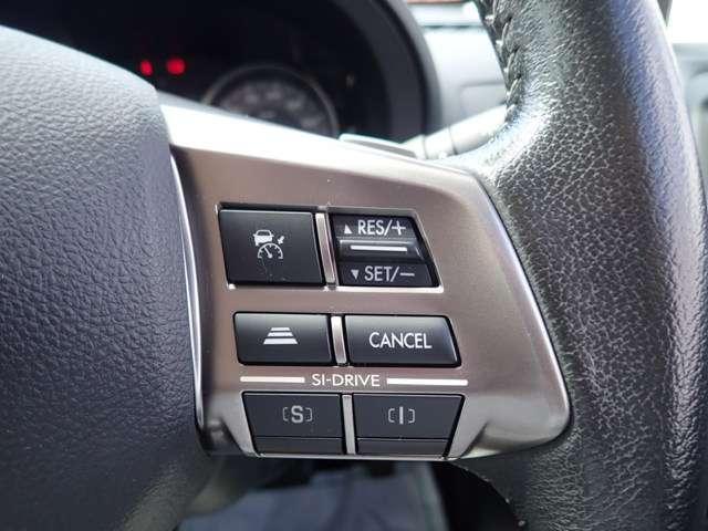 クルーズコントロールもございますので、高速道路走行時も便利ですよ!