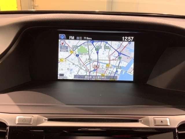 フルセグTVやDVD再生、Bluetooth接続もご利用できますHDDナビ搭載です。知らない道も安心ですね!