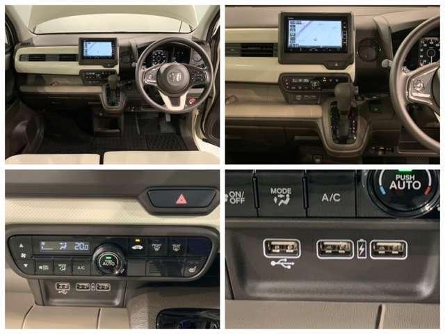 Lホンダセンシング 試乗車 ナビ VXM-204VFi Bluetooth CD録音 Bカメ ナビTV クルーズコントロール 地デジ 盗難防止システム 禁煙 LED スマートキー アイドリングストップ ワンオーナー(9枚目)
