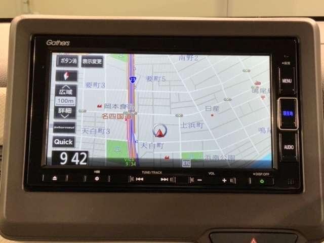 Lホンダセンシング 試乗車 ナビ VXM-214VFi Bluetooth LED ETC Bカメ ナビTV クルーズコントロール 地デジ 盗難防止システム 禁煙 LED スマートキー アイドリングストップ ワンオーナー(6枚目)