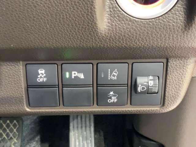 Lホンダセンシング 試乗車 ナビ VXM-214VFi Bluetooth LED ETC Bカメ ナビTV クルーズコントロール 地デジ 盗難防止システム 禁煙 LED スマートキー アイドリングストップ ワンオーナー(18枚目)