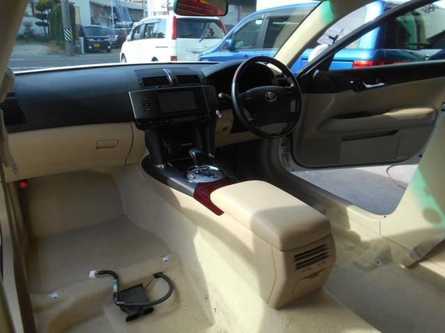 トヨタ マークX 250G 室内クリーニング済 ナビTV ETC パワーシート