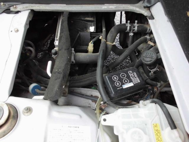 3気筒DOHC12バルブで力強く!