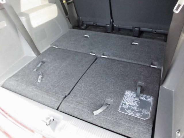 サードシート収納でこのスペース!