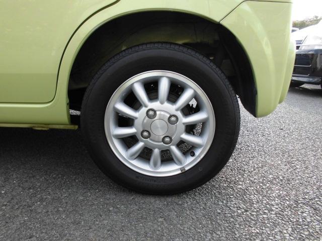 タイヤは4本共に同じくらいの溝です!