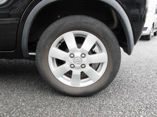 タイヤも4本同じくらいの溝!