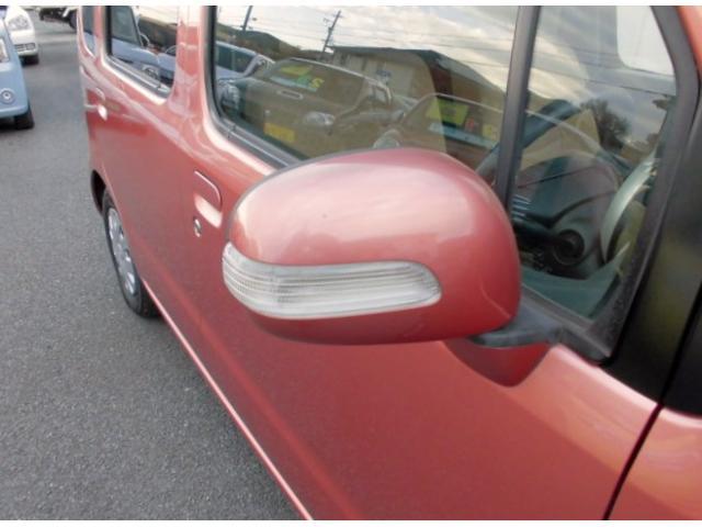 軽自動車として初となるドアミラーターンランプ!